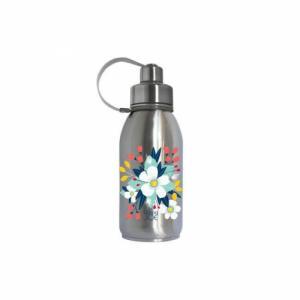 Bouteille à thé inox 700ml - Bouquet