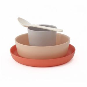 EKOBO Set de vaisselle Terracotta