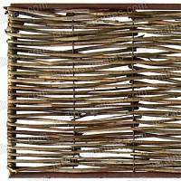 Bordure médiévale bois acacia - 180x45cm + tige