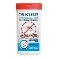 Lingettes anti moustiques et insectes x20
