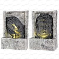 Fontaine extérieure lumineuse Bouddha