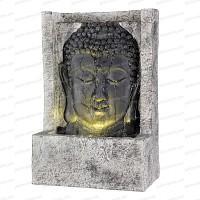 Fontaine extérieure lumineuse Bouddha - Tête droite