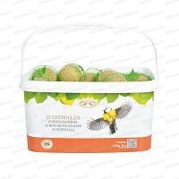 Pack de 25 boules de graisse pour oiseaux