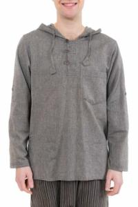 Chemise ethnique transformable capuche Paoh