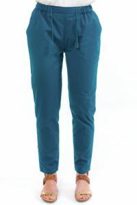 Pantalon droit carotte cool chic femme