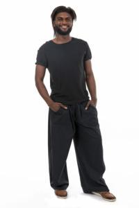 Pantalon japonais original noir