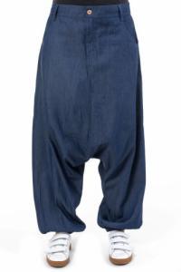 Pantalon sarouel jean bleu Bimbam