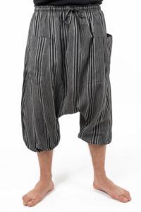 Sarouel bermuda ethnique homme Stripa