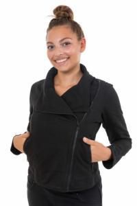 Veste perfecto femme coton epais