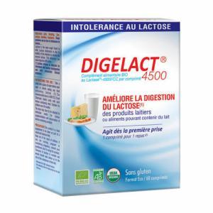 Digelact 4500 bio - Intolérance au lactose - 60 comprimés