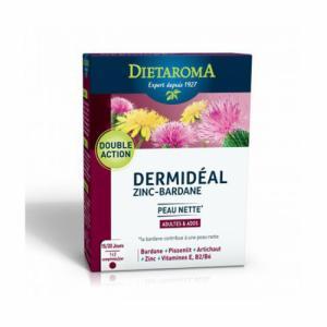Dermidéal - Zinc Bardane - Peau nette - 30 comprimés