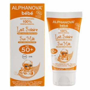 Crème solaire Bébé bio SPF 50 Très Haute protection 50ml