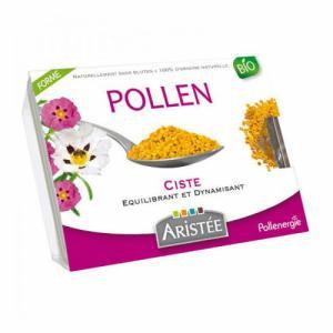 Pollen de Ciste frais bio - Aristée - Barquette de 250g