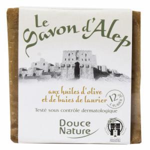 Savon d'Alep 12% Laurier 80% Olive 200g