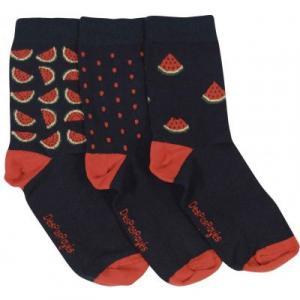Lot de 3 chaussettes bébé pastèques