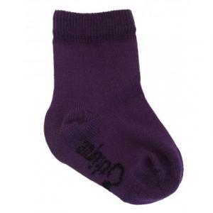 Chaussettes bio violet enfant