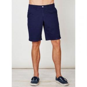 Short bleu pour homme en coton bio
