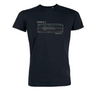 Tee shirt chanvre et coton bio Noir Amen