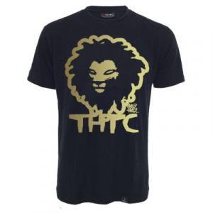Tee shirt chanvre et coton bio Gold lion