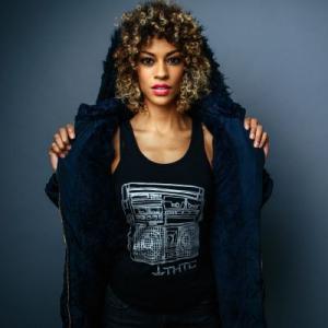 Débardeur noir femme vintage Musique