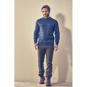 Pantalon à carreaux chanvre et coton bio