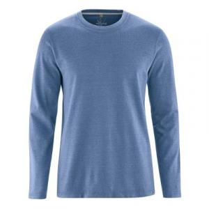 T-shirt écologique manches longues tissu épais chanvre et coton bio