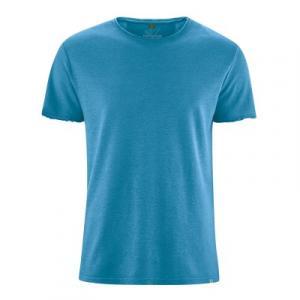 t-shirt manches courtes en fibres de chanvre et coton bio