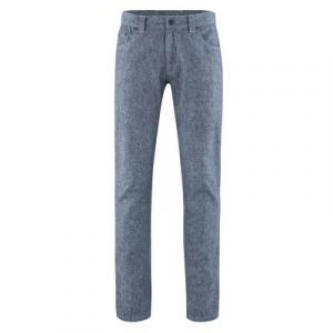 Pantalon bio 5 poches, coupe droite