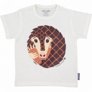 T-shirt coton bio pangolin