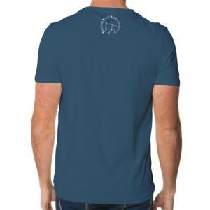 """T-shirt coton bio équitable DOUALA """"empreinte O.V.N.I"""""""