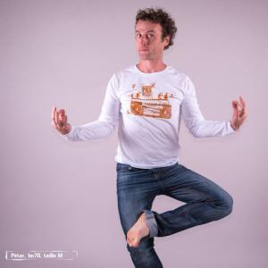 "T shirt coton bio équitable DAKAR ""Danse"""