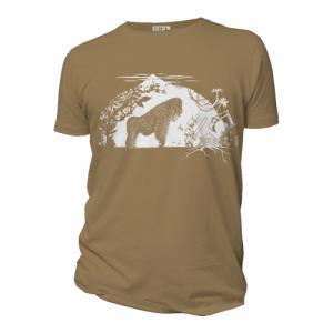 """T-shirt bio équitable DOUALA """"Gare au gorille"""""""