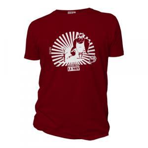"""T-shirt bio équitable DOUALA """"Foutons-nous la Paix"""""""