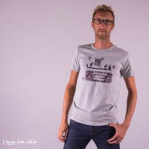 "T-shirt bio équitable DOUALA ""Danse"""