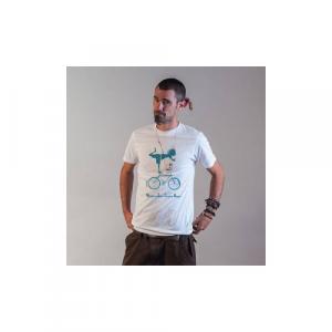 "T-shirt bio équitable DOUALA ""Vélo"""