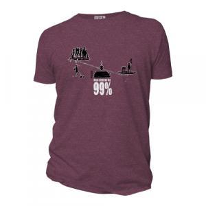 """T-shirt bio équitable DOUALA """"99 pour 100"""""""