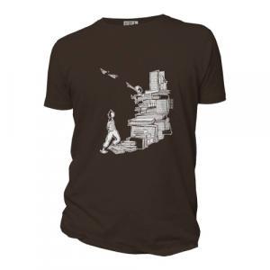 """T-shirt bio équitable DOUALA """"Escalivres"""""""