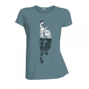 """T-shirt équitable coton bio JALNA """"Il était une fois"""""""