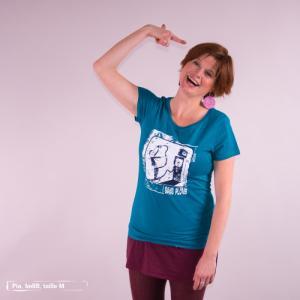 """T-shirt équitable coton bio JALNA """"Sans plomb"""""""