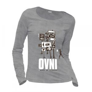 "T-shirt coton bio éthique NALIYA ""O.V.N.I"""