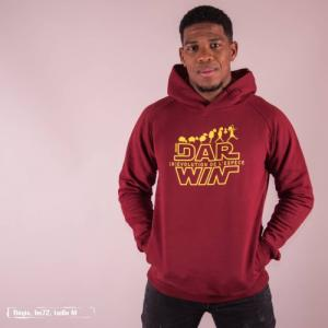 "Sweat capuche bio équitable JAMUI ""Dar Win"""