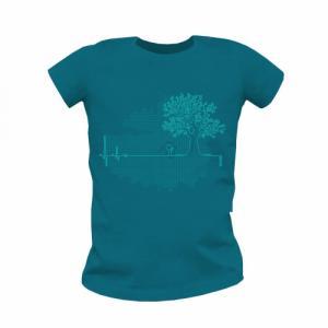 """T shirt coton bio équitable MANAUS """"Ligne de Vie"""""""