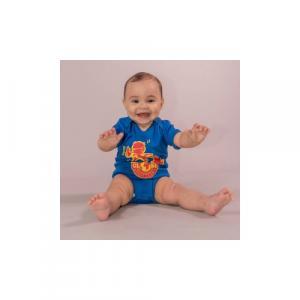 """Body bébé équitable bio RIO """"Globe Trotter"""""""