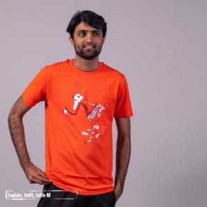 """T-shirt bio équitable DOUALA """"Le prix du silence"""""""