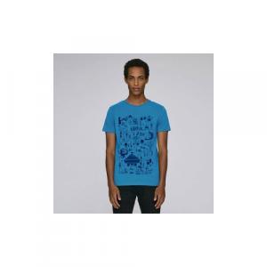 """T-shirt bio équitable DOUALA """"Mic Mac"""""""