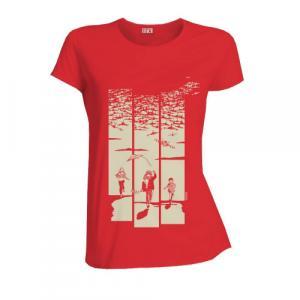 T-shirt équitable coton bio JALNA  Jeux de guerre