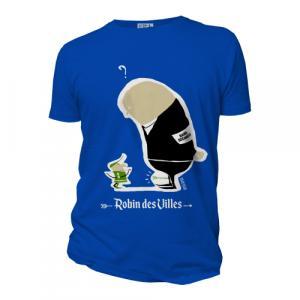 """T-shirt bio équitable DOUALA """"Robin des villes"""""""