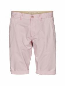 Twisted twill short - Orchid Pink - Knowledge cotton apparel