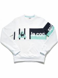 Lcs x24kts Crew Sweat - Optical White - Le coq sportif