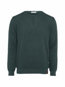Sailor Pattern Knit - Bistro green - Knowledge cotton apparel